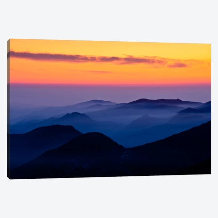 Rising Mist Canvas Print #11601} by Dan Ballard Canvas Art Print