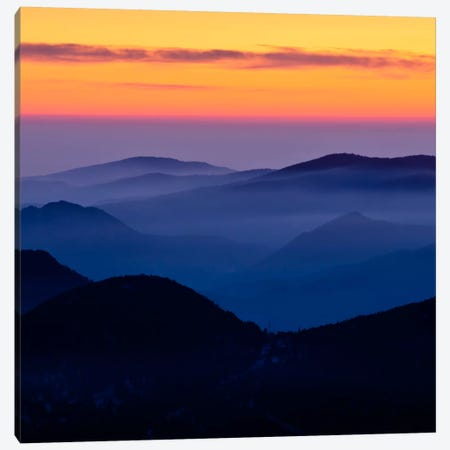 Rising Mist #2 Canvas Print #11601B} by Dan Ballard Canvas Print