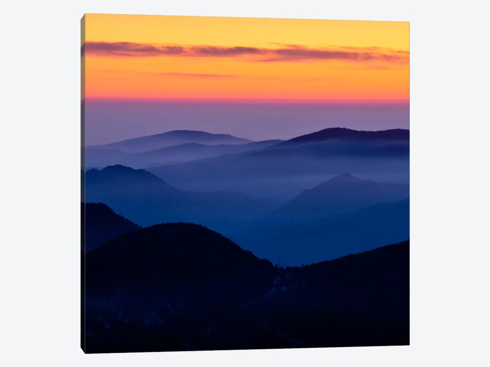 Rising Mist #2 1-piece Canvas Art