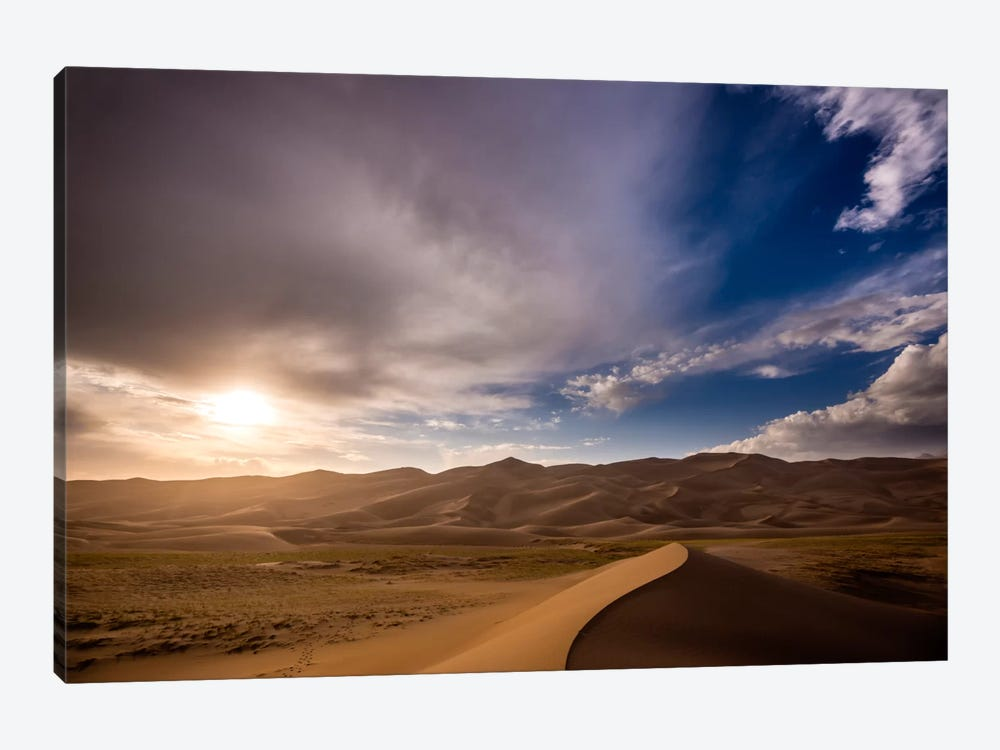 The Great Dunes 1-piece Canvas Wall Art