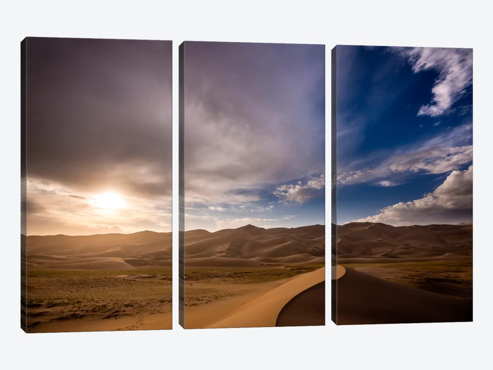 The Great Dunes 3-piece Canvas Wall Art