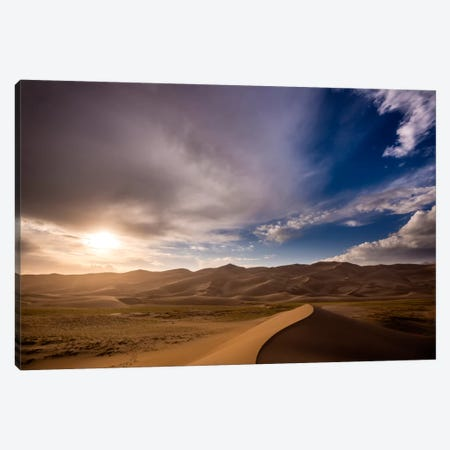 The Great Dunes Canvas Print #11604} by Dan Ballard Canvas Wall Art
