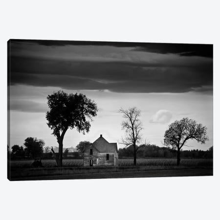 The Old Place Canvas Print #11606} by Dan Ballard Canvas Artwork