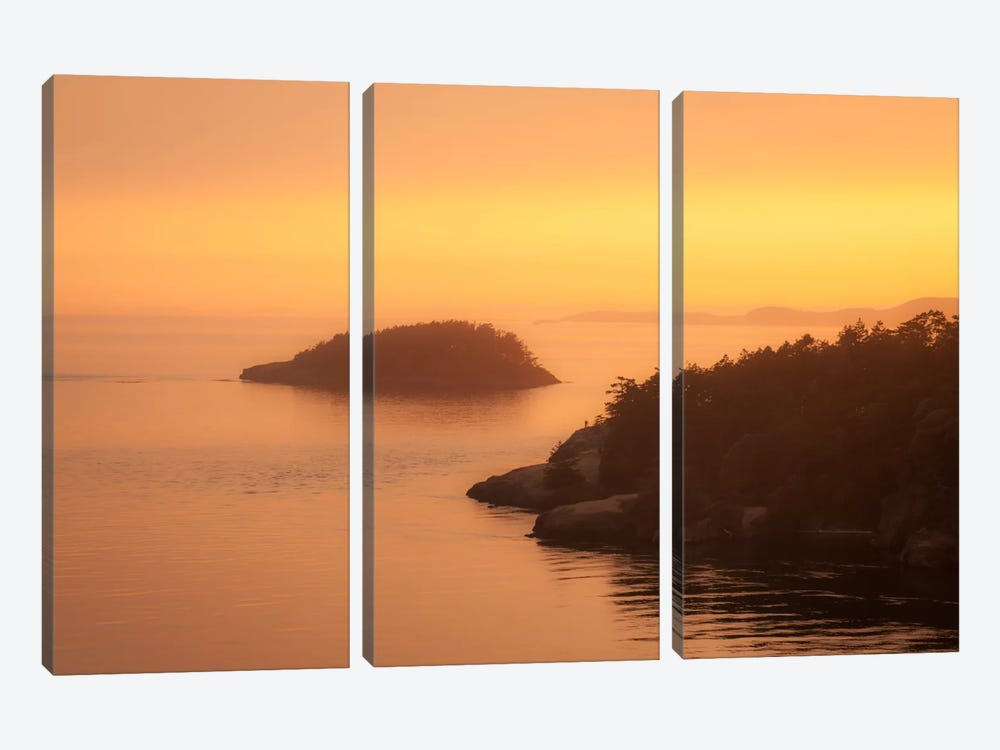 Waters Calm 3-piece Canvas Artwork