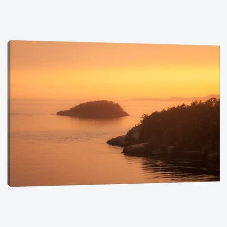 Waters Calm Canvas Print #11611} by Dan Ballard Canvas Art