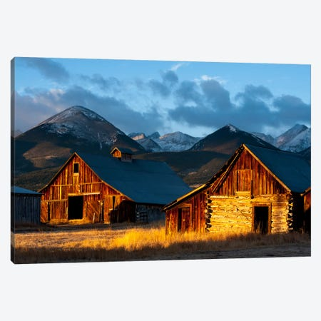 Wet Mountain Valley Sunrise Canvas Print #11614} by Dan Ballard Canvas Print