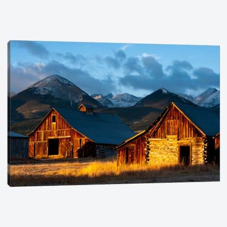 Wet Mountain Valley Sunrise Canvas Print #11614} by Dan Ballard Canvas Print