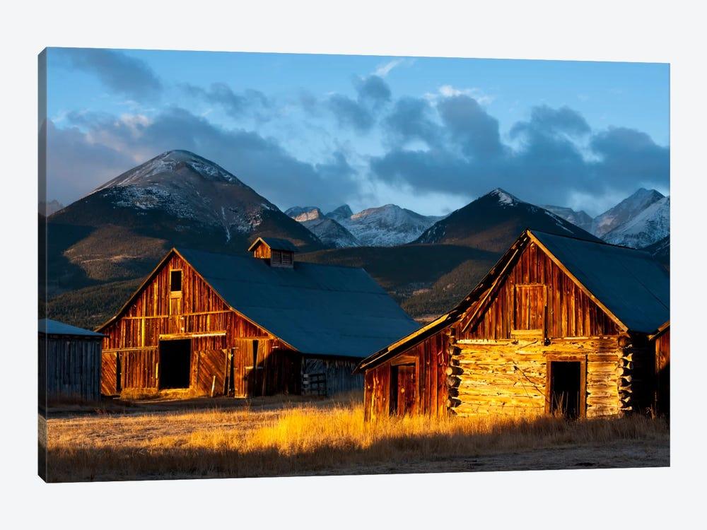 Wet Mountain Valley Sunrise by Dan Ballard 1-piece Canvas Print