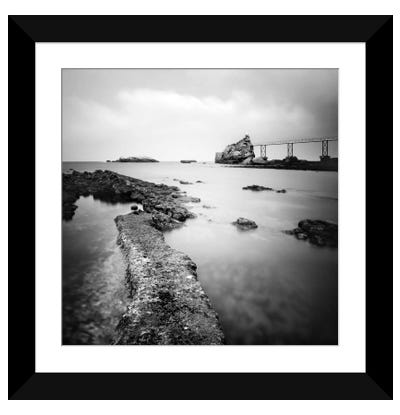 Biarritz Framed Art Print