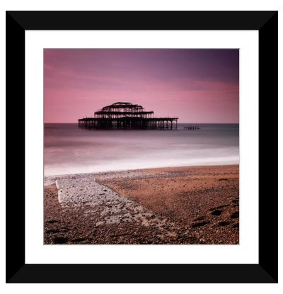 Brighton Pier Framed Art Print