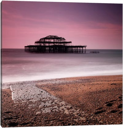 Brighton Pier Canvas Art Print