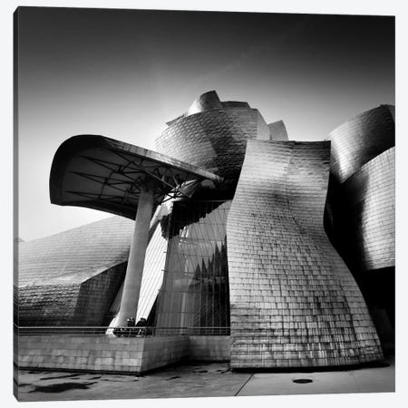 Guggenheim Bilbao Canvas Print #11623} by Nina Papiorek Art Print