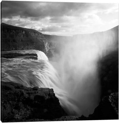Iceland Gullfoss Canvas Art Print