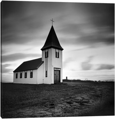 Iceland Hellnar Church Canvas Art Print