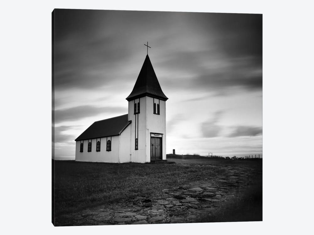 Iceland Hellnar Church by Nina Papiorek 1-piece Canvas Wall Art