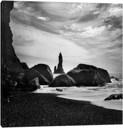 Iceland Vik Rocks Canvas Art Print