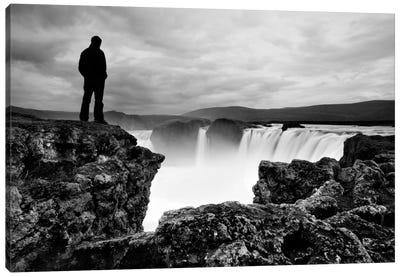 Iceland Waterfall Canvas Art Print