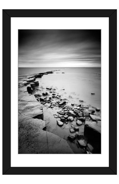 Kimmeridge Bay Framed Art Print