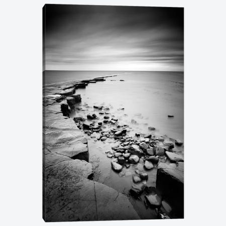 Kimmeridge Bay Canvas Print #11631} by Nina Papiorek Canvas Wall Art