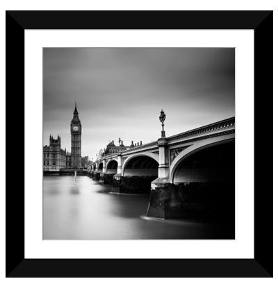 London Westminster Framed Art Print