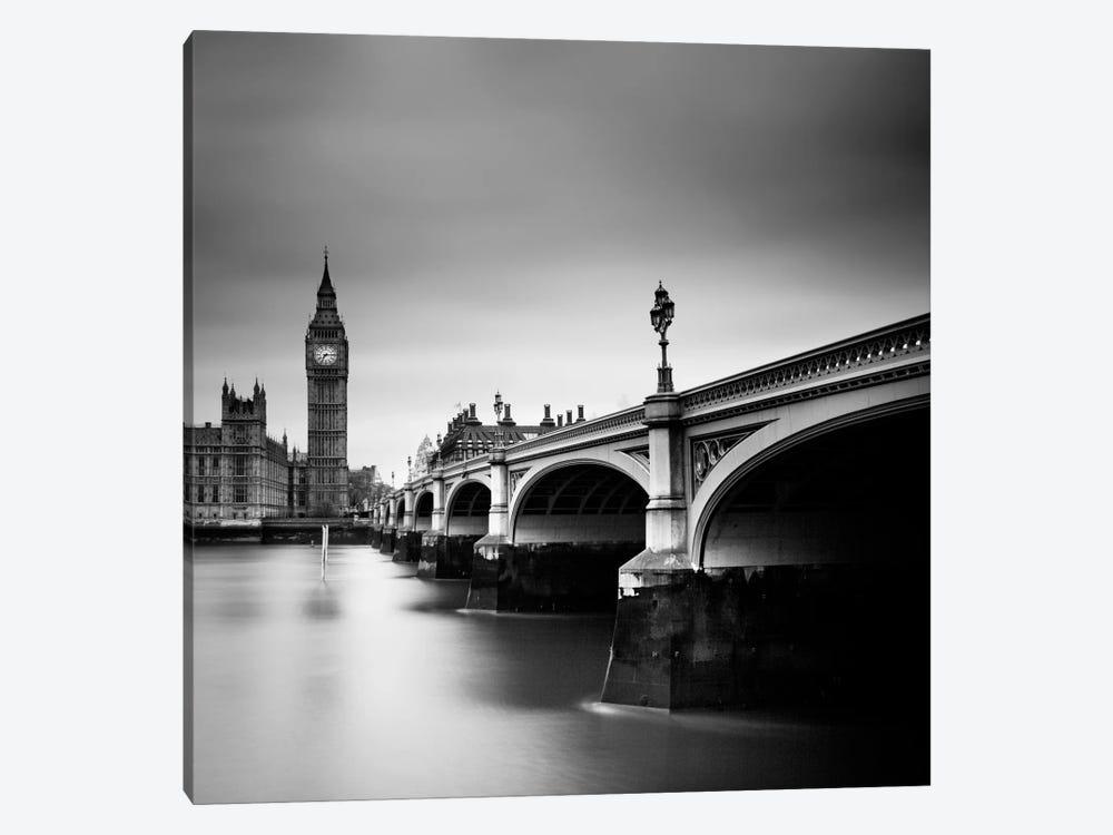 London Westminster by Nina Papiorek 1-piece Canvas Art Print