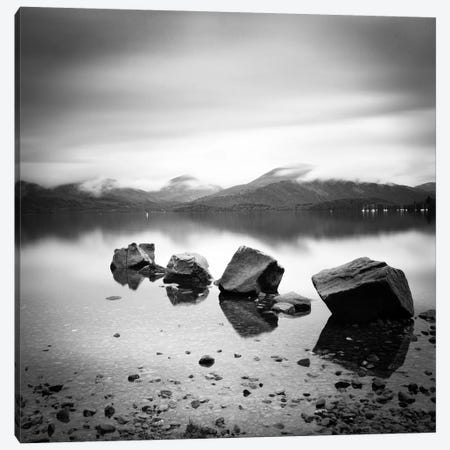 Lomond Rocks Canvas Print #11633} by Nina Papiorek Canvas Artwork