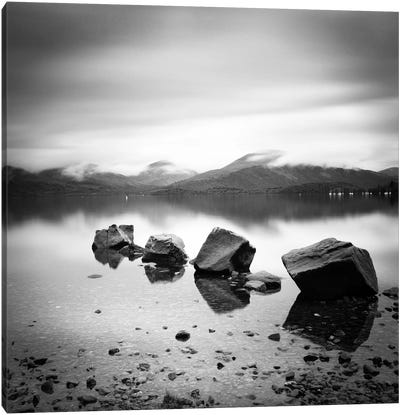 Lomond Rocks Canvas Art Print