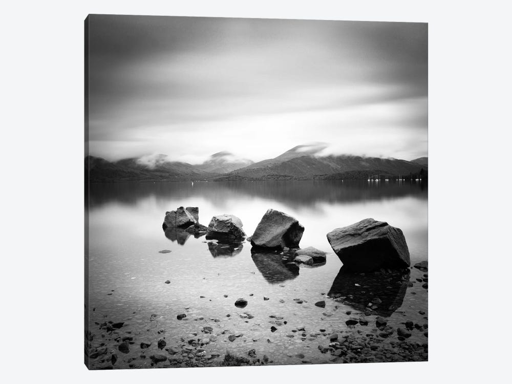Lomond Rocks by Nina Papiorek 1-piece Canvas Wall Art