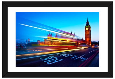 London Big Ben Framed Art Print