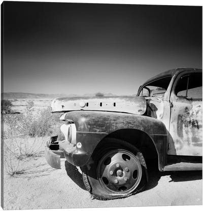 Namibia Rotten Car Canvas Art Print