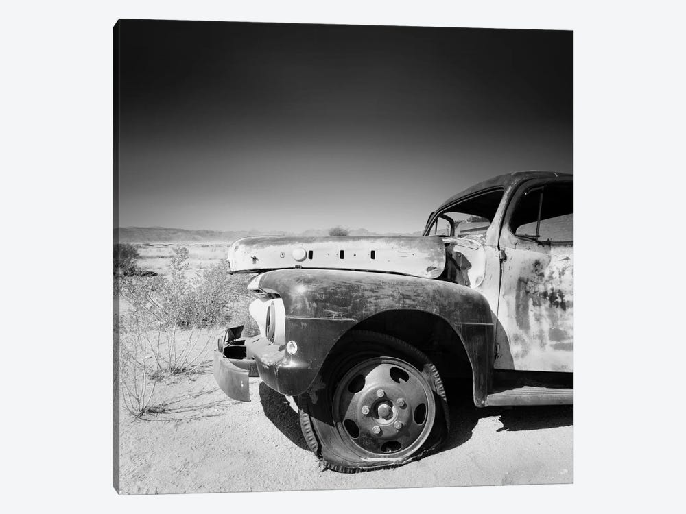 Namibia Rotten Car by Nina Papiorek 1-piece Canvas Wall Art