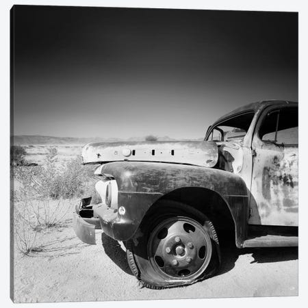 Namibia Rotten Car Canvas Print #11640} by Nina Papiorek Canvas Art Print