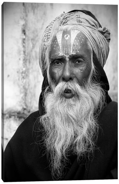 Nepal Saddhu II Canvas Art Print