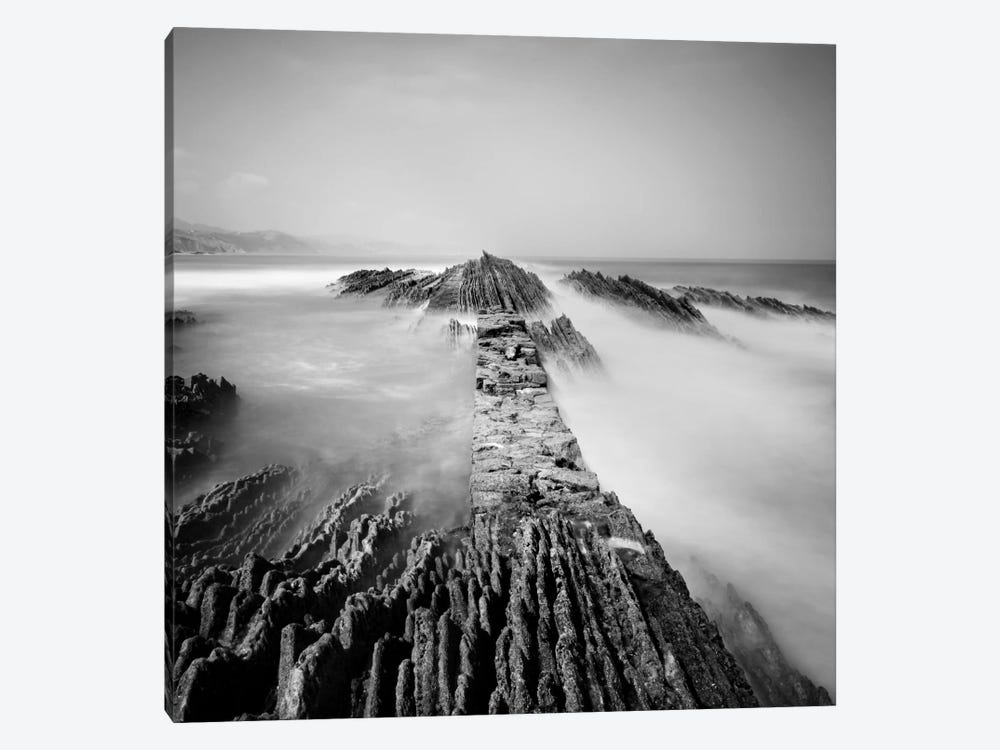 Zumaia by Nina Papiorek 1-piece Canvas Art