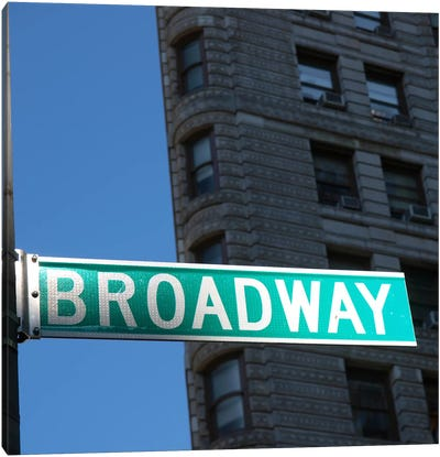 NYC Broadway Canvas Print #11646