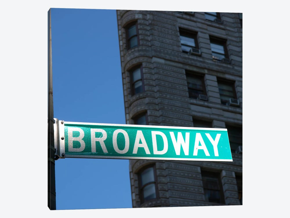 NYC Broadway by Nina Papiorek 1-piece Canvas Art