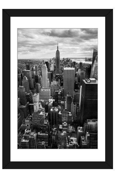 NYC Downtown II Framed Art Print