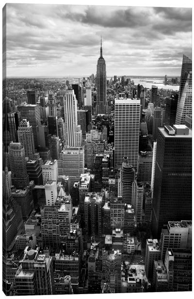 NYC Downtown II Canvas Art Print