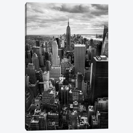 NYC Downtown II Canvas Print #11647} by Nina Papiorek Canvas Artwork