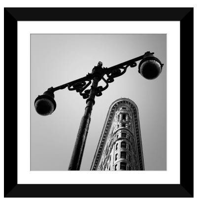 NYC Flat Iron Framed Art Print