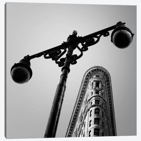 NYC Flat Iron Canvas Print #11648} by Nina Papiorek Canvas Print