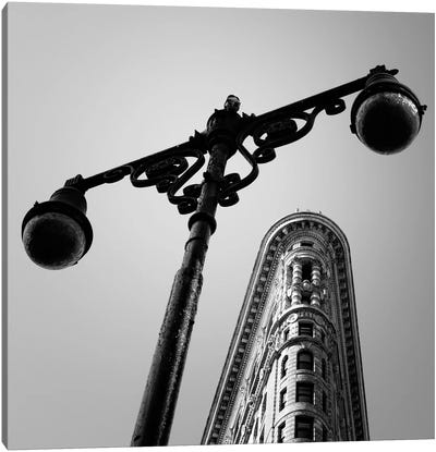 NYC Flat Iron Canvas Art Print
