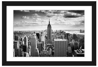 NYC Downtown Framed Art Print