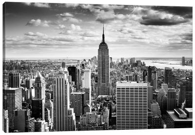 NYC Downtown Canvas Art Print