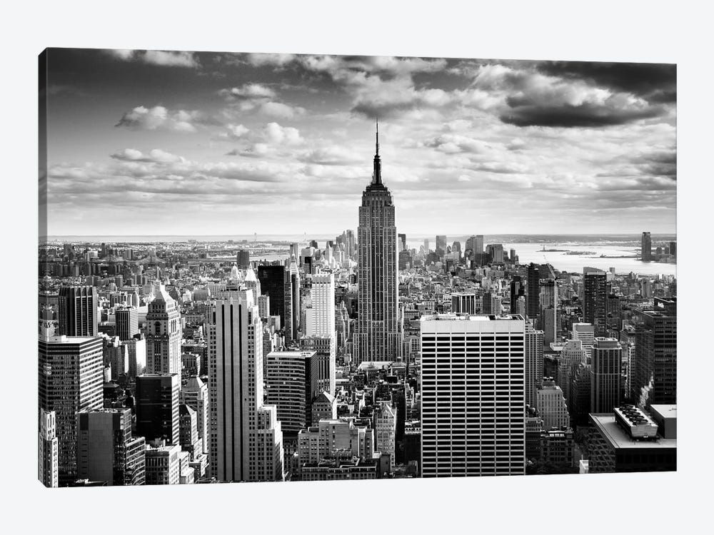 Nyc Downtown Canvas Art Print By Nina Papiorek Icanvas