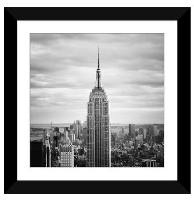 NYC Empire Framed Art Print