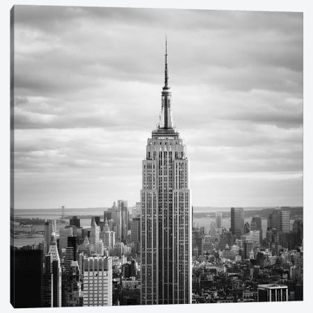 NYC Empire Canvas Print #11650} by Nina Papiorek Canvas Artwork