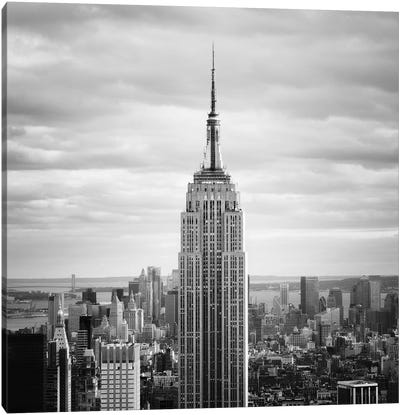 NYC Empire Canvas Art Print