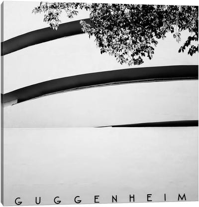 NYC Guggenheim Canvas Art Print