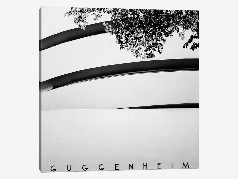 NYC Guggenheim by Nina Papiorek 1-piece Canvas Art